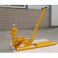 China manual operation cement grouting pump on sale