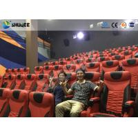 Quality Electrical / Hydraulic4D Movie Theater Equipment For Action Movies 4 seats - 100 seats wholesale