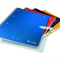 China spiral notebook with color printing on sale
