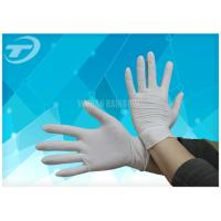 Quality Comfortable Feeling Medical Disposable Gloves With Anatomic Shape 6 - 9 Size wholesale