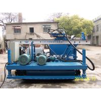 Cheap Single , Double Pipe Crawler Drilling For Jet - Grouting Full Hydraulic for sale