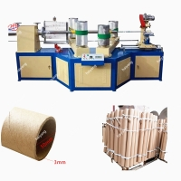 China Automatic Spiral Toilet Paper Tube Core Making Machine Cardboard Cutting Machine on sale