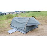 Quality 4WD Swag 1 Person Canvas Tent Fire Prevention Fabric Material For Outdoor Entertainment wholesale