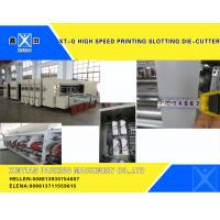 Quality Automatic Corrugated Carton Making Machine Slotter Die Cutter Lead Edge Feeding wholesale
