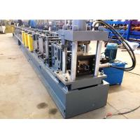 Quality 80mm Shaft Dia Rack Roll Forming Machine , Cable Tray Production Line Fully Automatic Operation wholesale