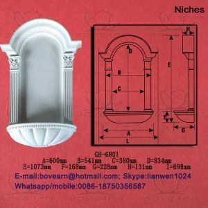Quality plaster niches wholesale crown molding wholesale
