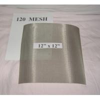 "Quality Fine Stainless Steel 304 316 Wire Cloth, 120Mesh Plain Weave 0.0037"" Wire 48"" Wide wholesale"