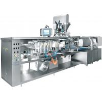 Quality Vacuum Rotary Pouch Packing Machine , Rotary Packaging Machine For Stretch Film Food wholesale