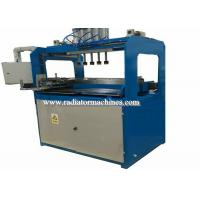 Quality Manual Type Radiator Plastic Tank Crimping / Clinching Machine Pneumatic Force wholesale