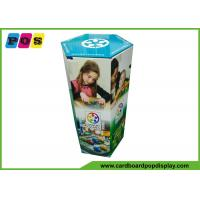 Quality Portable Advertising Cardboard Pop Displays With Paperbaord Inserts In Kids Games Playing FL181 wholesale