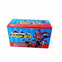 Quality Heroes Series-Superman VS Batman Chewy Candy Looks Clolorful Tastes Sweet wholesale