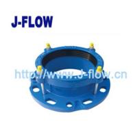 China ductile iron Flange Adaptor for PVC Pipe on sale