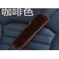 Handmade Anti Slip Shearling Seat Belt Cover For Toddlers Comfortable