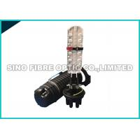 Quality 2 Into 2 Out Fiber Optic Splice Box 24 Core For Fiber To The Home Hand Hole Splicing wholesale