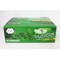 Quality 8g Strong Mint Flavor Compressed Candy Packed In Plastic Round Box wholesale