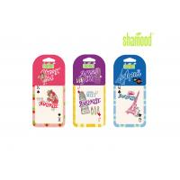 China Small Paper Card Hanging Car Perfume Cherry Fragrance Girl Miss You Aqua on sale