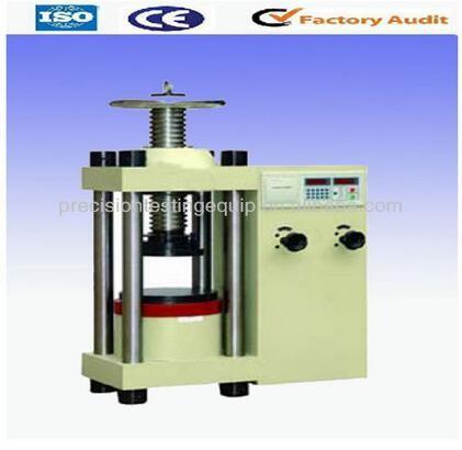 2000kn Digital concrete compression testing machine