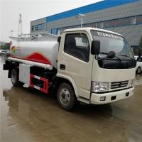 Quality 2020s best price mini 5,000Liters oil tanker truck for sale, cheapest LHD diesel 5000 liter mobile refueler vehicle wholesale