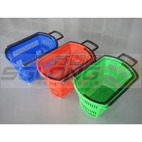 China High Performance Supermarket Shopping Baskets Lightweight 20L - 68L Capacity on sale