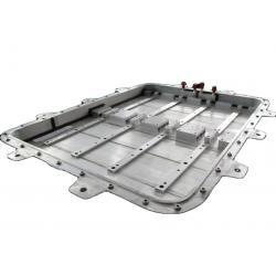 China OEM/ODM custom friction stir welding FSW aluminum alloy battery tray for for sale