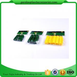 Quality Greenhouse  Film Clip Garden Cane Connectors / Garden Stake Connectors 19mm 22mm 25mm 10pcs ctn qty 100 wholesale