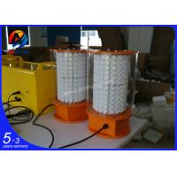 Quality AH-HI/O LED emergency lights used above 105m tower /building , white LED aviation emergency light Type A wholesale