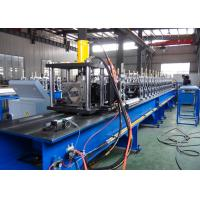 Quality Non - Stop Cutting Pallet Rack Roll Forming Machine 1.5 - 2.5mm Thickness Material Usage wholesale