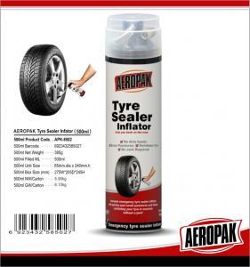 China Continental Fix Emergency Tyre Repair White Foam Car Tire Puncture Repair on sale