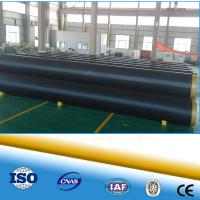 Cheap insulated spiral welded pipe insulation hot water pipe chilled water pipe for sale