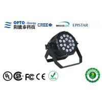 Quality IP65 Led Par Stage Lights DMX 512 200W 18pcs 4 in 1 for DJ Lighting Party Lighting wholesale