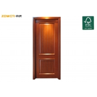 China Particle Board Varnish Finished Plain Wooden Door on sale