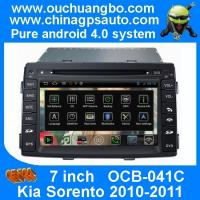 Quality Ouchuangbo HD Video Car Radio GPS 3G Wifi DVD Player Kia Sorento 2010-2011 S150 Android 4.0 System OCB-041C wholesale