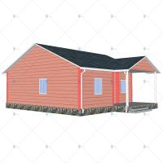 China Heya-2B08-B China 2 room sandwich panel house materials cheap home in Kenya for sale