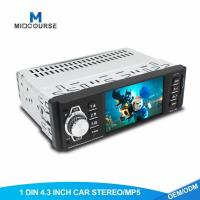 Quality 4.1 Inch 1 Din Car Stereo TFT LCD Car MP5 Player With Bluetooth OEM  Service wholesale