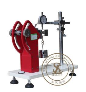 China Leather Shoe Testing Machine , Insole Back Part Stiffness Testing Machine on sale