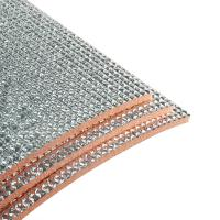 Quality Dust Free Self Adhesive Insulation Foam Fireproof Material 0.5-60MM Thickness wholesale