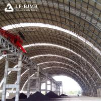 Quality Prefab Steel Frame Structure Storages Buildings Large Span Space Frame Coal Storage Shed Dry Coal Sheds wholesale