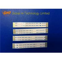 Quality 8 Pin FPC Flexible Printed Circuit Cable , FFC Flat Cable Pitch 1.0mm Low Voltage wholesale