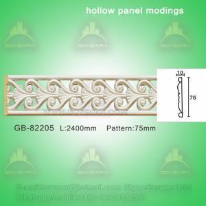 Quality Decorative PU center hollow mouldings wholesale