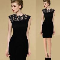 Quality New Sexy Casual Lace Sleeveless Party Evening Cocktail Short Fashion Women Dress wholesale