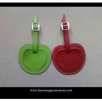 China New Products for 2015 Factory Customized Leather Luggage Tag with your logo on sale