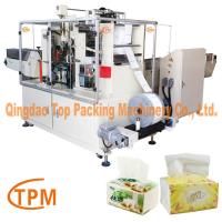 China Soft facial tissues paper packing machine on sale