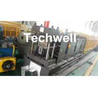 Quality 0-15m/min Forming Speed Cold Roll Forming Machine For Making Top Hat Channel , Furring Channel wholesale