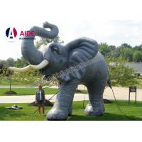 Quality Giant Blow Up Elephant Inflatable Cartoon Characters For Promotion Decoration wholesale
