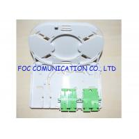 Cheap Fiber Optic Termination Box 4 Port Full Loaded With Adapters and Pigtails for sale