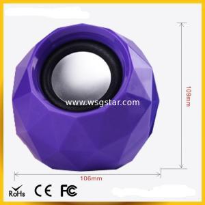 Quality Diamond design 2.0 USB mini Speaker wholesale