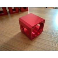 Cheap High-precision Red Color Anodized CNC Machining Aluminum Industrial Parts for sale
