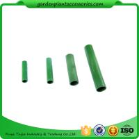 Quality Green Bamboo Trellises Garden Cane Connectors Match With Garden Stakes 10pcs/pack Garden Stakes Connectors wholesale