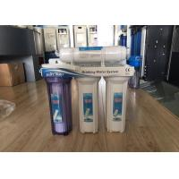 Quality 4 Stage 50 GPD Non - Electrical Household Water Filter Filtration Drinking Water System wholesale