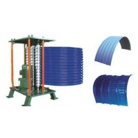 Quality Roof Steel Tile Roll Bending Machine Automatic Curving Radius 500mm wholesale